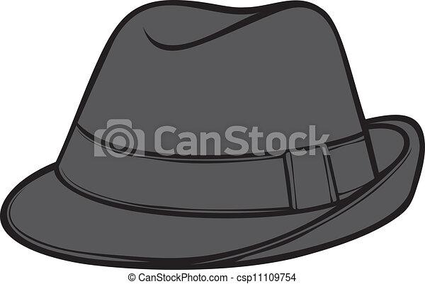 Fedora Drawing Hat Men s