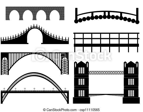Bridge illustration - csp11110565