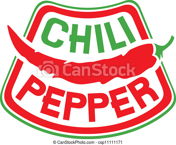 Chili pepper symbol Vector Clipart Royalty Free. 2,363 Chili ...