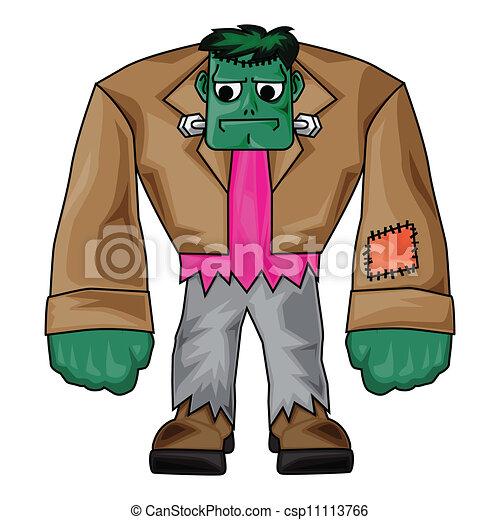 Clip Art de vectores de Frankenstein, Halloween, Clip, arte ...