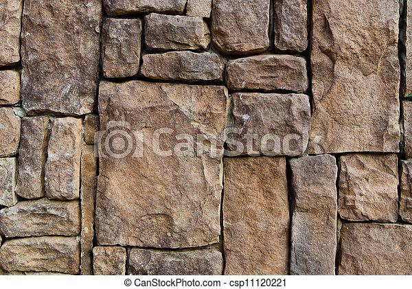 vägg, mönster, sten, gammal - csp11120221