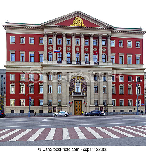 House of Moscow City Government - csp11122388
