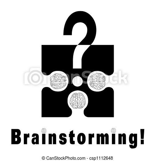 Brainstorming metaphor - csp1112648
