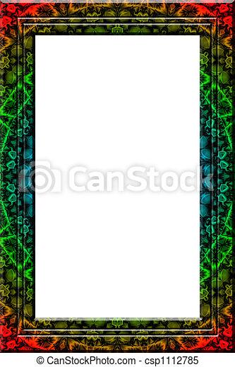 Maya fantasy portrait frame - csp1112785
