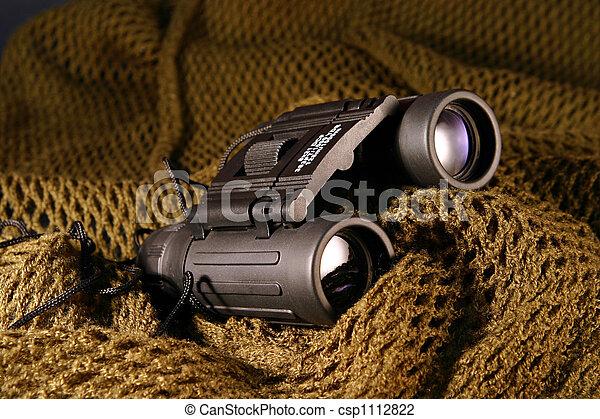 Military spyglass - csp1112822