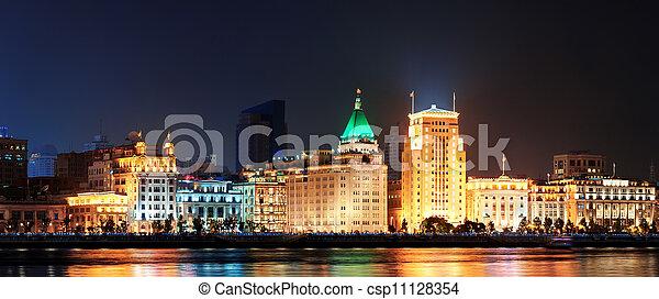 Shanghai historic architecture - csp11128354
