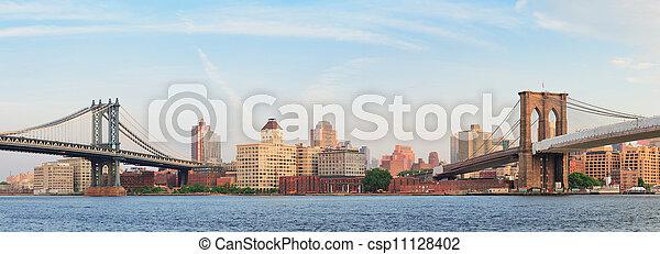 New York City Bridges - csp11128402