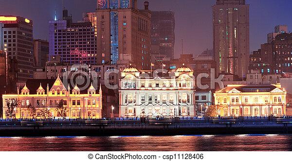 Shanghai historic architecture - csp11128406