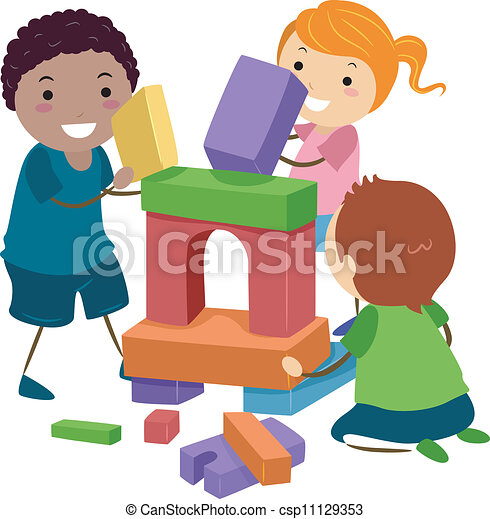 Clip Art Block Clipart block illustrations and clip art 106764 royalty free stickman building blocks illustration of stick kids