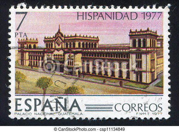Government Palace in Guatemala - csp11134849