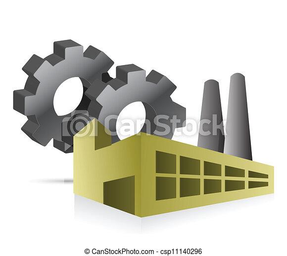 EPS Vectors of Factory...