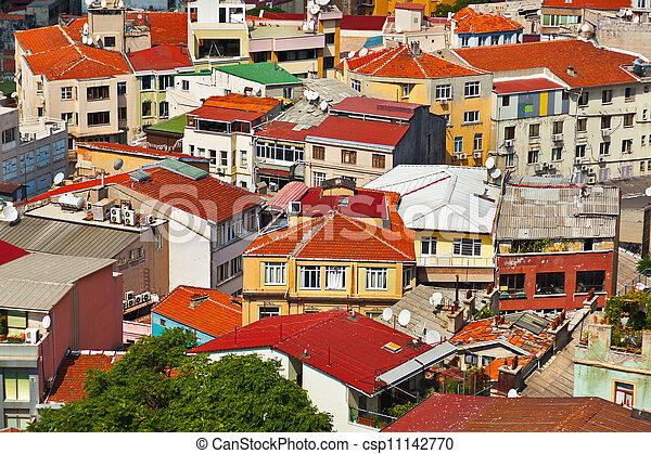 Istanbul Turkey view - csp11142770