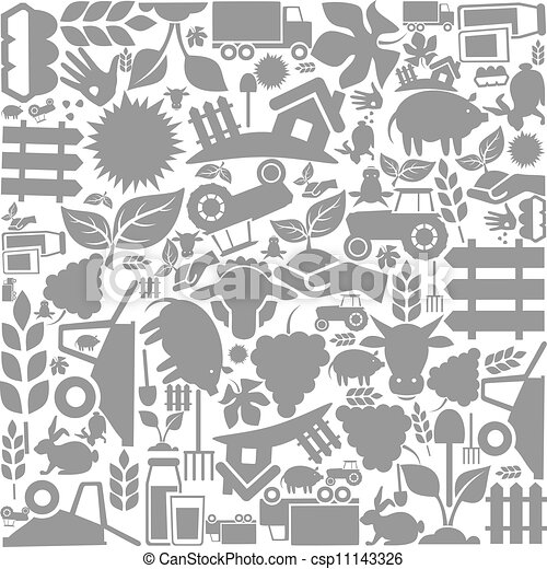 Background agriculture - csp11143326