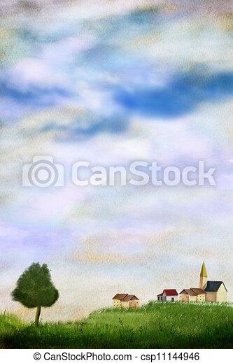 Rural Landscape - csp11144946