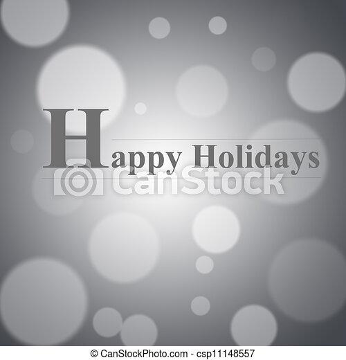Happy holidays - csp11148557