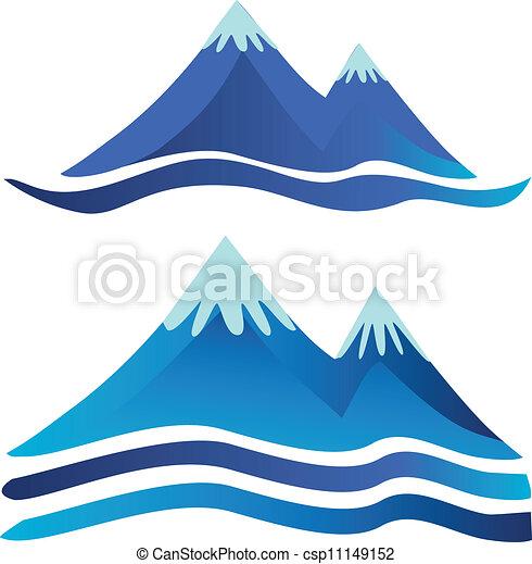 Mountains logos - csp11149152