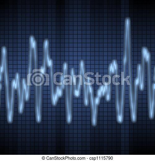 audio or sound wave - csp1115790