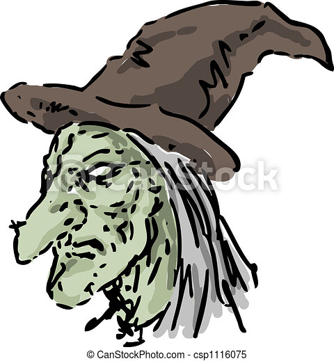witch - stock illustration, royalty free illustrations, stock clip art ...