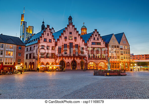 Historic Center of Frankfurt - csp11169079