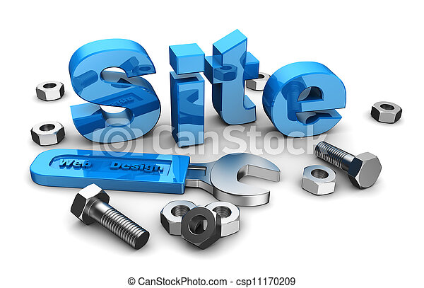 Web site design - csp11170209