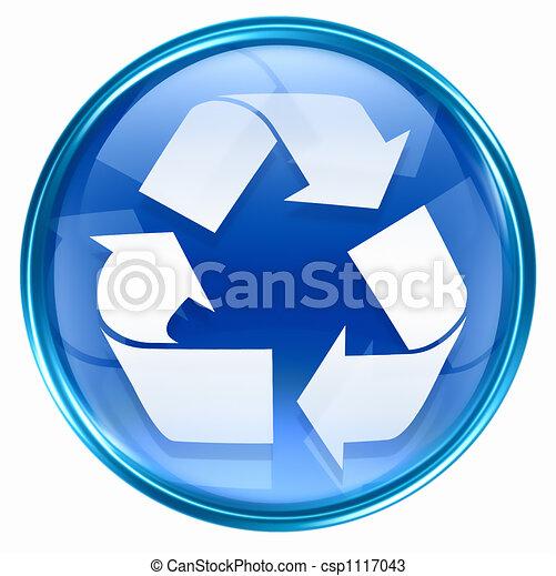 Recycling symbol icon  - csp1117043