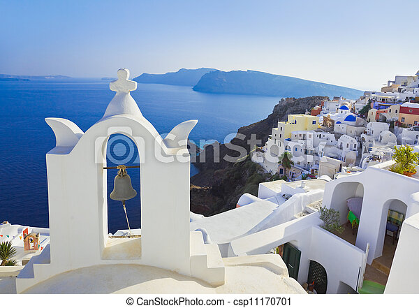 Santorini church (Oia), Greece - csp11170701