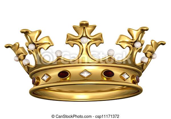 تيجان ملكية  امبراطورية فاخرة Can-stock-photo_csp11171372