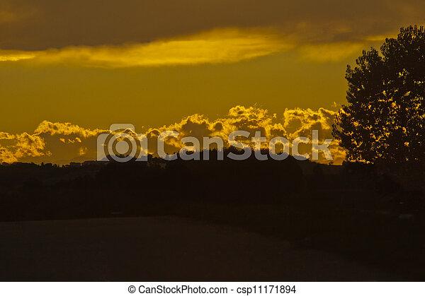 Sunset - csp11171894