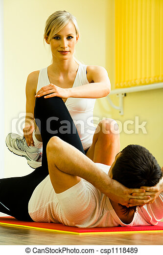 Physical training - csp1118489