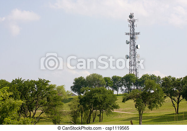 Communications Tower - csp1119565