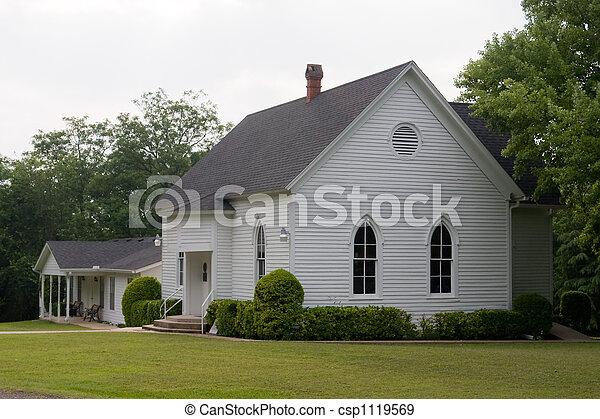 Rural Church Building - csp1119569