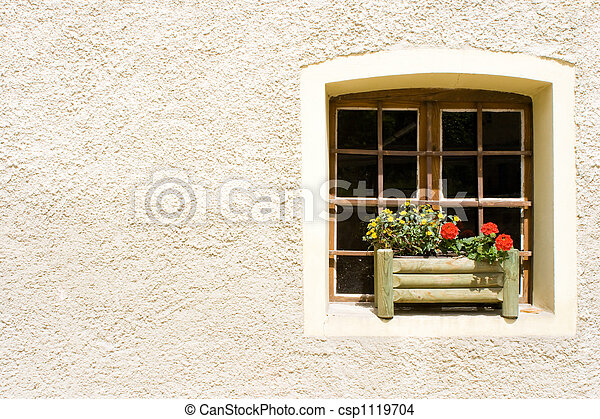 Rural Window - csp1119704
