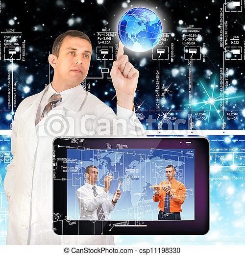 Creation innovative computers - csp11198330
