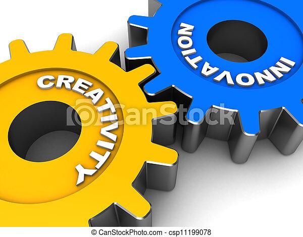 Industrial innovation - csp11199078
