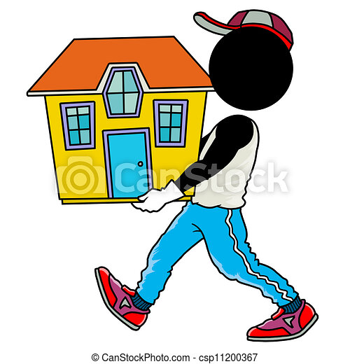 Moving house Illustrations and Clipart. 4,774 Moving house royalty ...