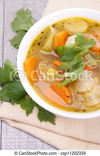 vegetable soup - csp11202339