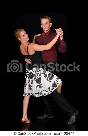 Ballroom dancers - csp1120477