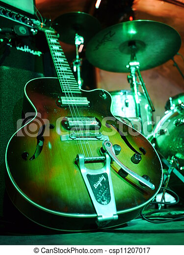Guitar stage electric