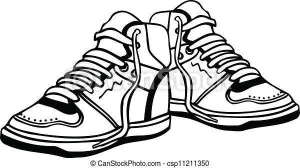 Sports Shoes Clip Art