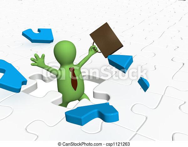 Success in business - csp1121263