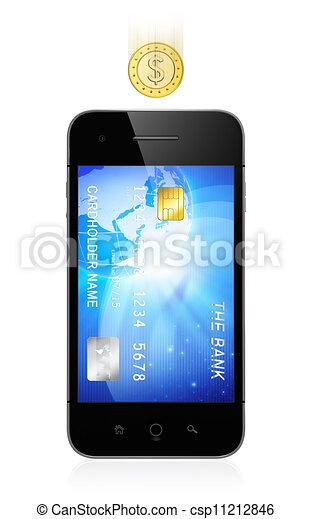 Mobile banking - csp11212846