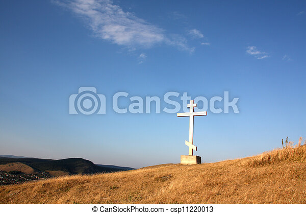 religion cross on the hill - csp11220013