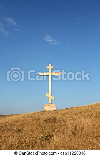 religion cross on the hill - csp11220018