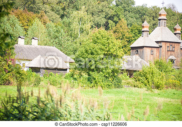 Beautiful rural cottage - csp11226606