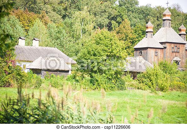 Beautiful rural cottage - csp11226606