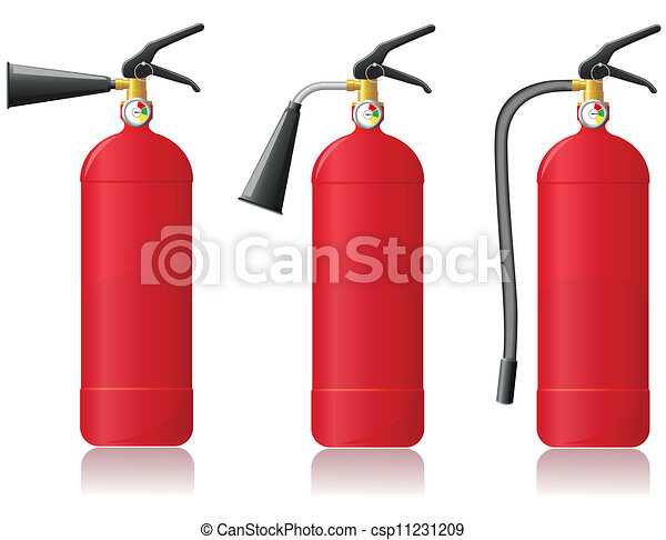 Fire extinguisher Vector Clip Art EPS Images. 3,873 Fire ...
