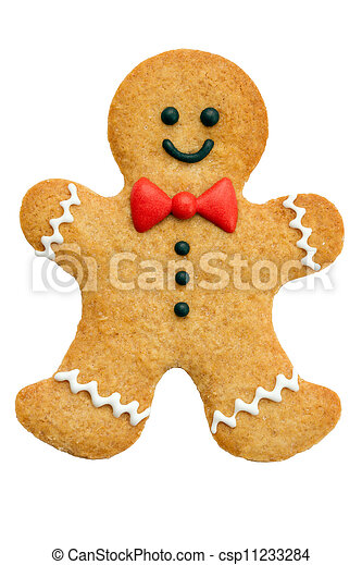 Gingerbread man - csp11233284