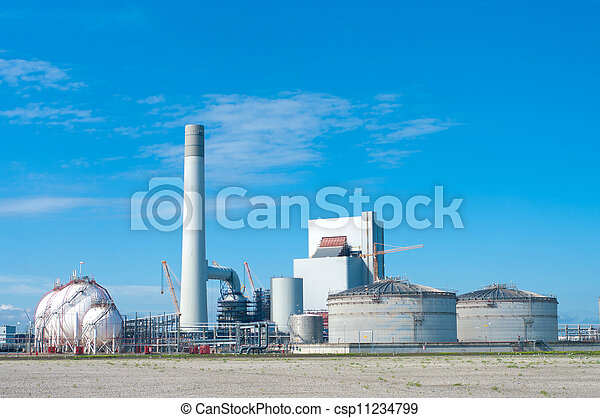 industrial building - csp11234799