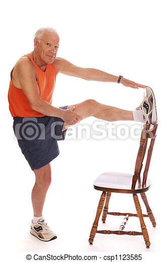 Senior Stretches - csp1123585