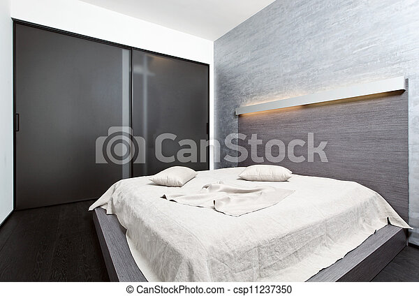 Stock Images Of Modern Minimalism Style Bedroom Interior
